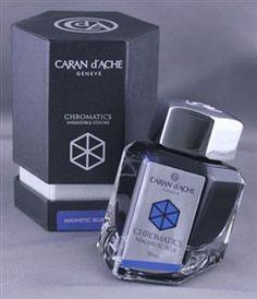 Caran d'Ache Magnetic Blue (50ml Bottle)
