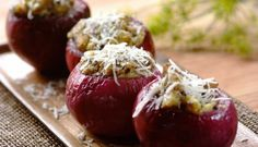 A scrumptious-looking side for the Balsamic Braai Onions. Braai Recipes, Wine Recipes, Cooking Recipes, What's Cooking, Tasty Vegetarian Recipes, Healthy Recipes, Braai Salads, A Food, Good Food