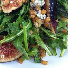 Fig and Wheat Berry Salad with Blue Cheese http://www.cuesa.org/recipe/fig-and-wheat-berry-salad-blue-cheese#