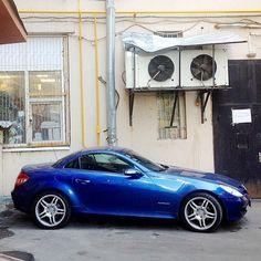 """@mercedesbenz's photo: """"We say Hello the new Instablog of @bluebenz . You have a very nice Mercedes-Benz SLK 200 . ;-) #mbfanphoto #mercedes #mercedesbenz #blue #slk200 #slkclass #life #moscow #kompressor #passion #lifestyle #love #owner #fun #drive #instacar"""""""