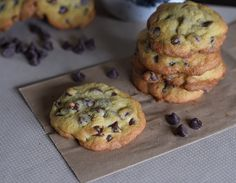 How to make scrumptious chocolate chip cookies from scratch.