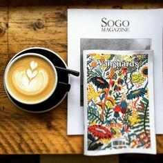 Thanks @dicksedinburgh #sogomagazine #vanguardsmagazine #independent #maxiscafe…
