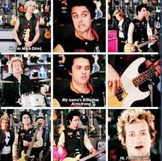 Green Day at Guitar Center