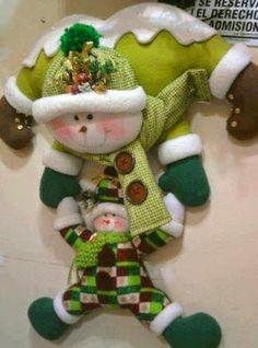 FELTRO MOLDES ARTESANATO EM GERAL decoração Natal