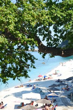 Summer in Greece //Agios Ioannis beach // Pelion