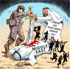 """German Intelligence Warns: Saudi Arabia Has """"Destabilizing Role"""" In The Middle East; Mike Krieger, Liberty Blitzkrieg, via Tyler Durden, December Zero Hedge: Interesting case of German understatement. United Nations Security Council, Turkish Army, Al Qaeda, Smart Art, Tonne, Foreign Policy, Political Cartoons, Middle East, World War"""
