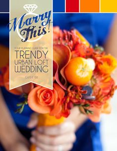 a wedding guide! what an awesome idea
