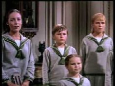 """Captain von Trapp joins in the singing of """"The Sound of Music""""."""