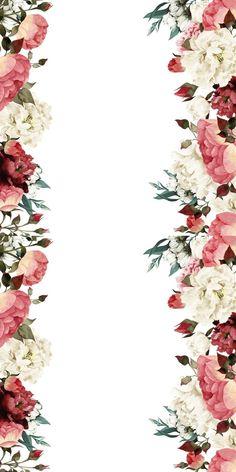 Huawei Wallpaper - Texturer, mallar, bakgrundsbilder etc. Floral Wallpaper Iphone, Flowery Wallpaper, Cool Wallpaper, Pattern Wallpaper, Cute Home Screen Wallpaper, Iphone Wallpaper Vintage Retro, Wallpaper Wedding, White Wallpaper, Trendy Wallpaper