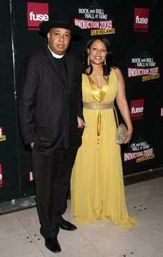 Rev Run & wife Justine