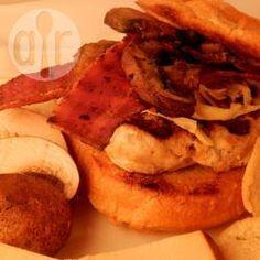Turkey Bacon Burgers @ allrecipes.co.uk