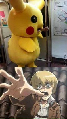 Memes Anime Otaku Shingeki No Kyojin Anime Meme, Otaku Anime, Manga Anime, Pokemon N, Pokemon Cards, Pokemon Fusion, Aot Memes, Funny Memes, Memes Humor