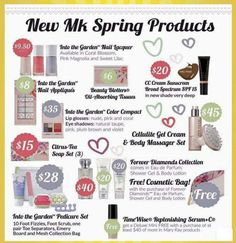 Mary Kay Spring Products