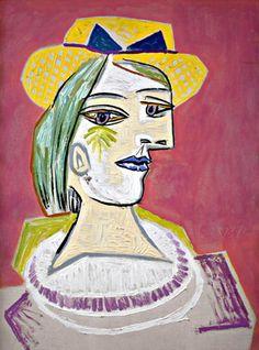 Pablo Picasso. Portrait de femme3. 1937 year