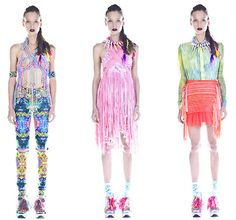 New Fashion /Psychedelic fashion by Emma Mulholland