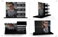 Client: Safilo for HUGO BOSS Counter Display