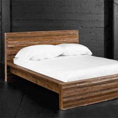 Love This Bed Frame Want To Make From Reclaimed Wood Anese Furniture Asian