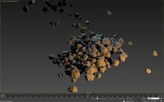 Continue to explore landscapes/terrains generation with maxscript.  I developped a tool to quickly generate rocks within 3DS Max. I know there exist a bunch of scripts available for that.  Some of them are encrypted scripts... so source code is hidden.  For me, here, it was more a kind of quick exercise to execute. (The script was written in less than 1 day).  Features list : - generate high poly rocks with one click button - ability to randomly change the rocks shapes as many times ...