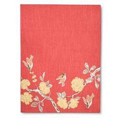 Threshold™ Floral Bird Pattern Placemat