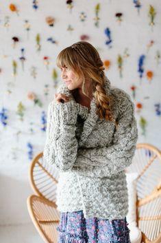 Knit Collage Knitalong Snowcap Cardigan Cropped Knit Sweater, Mohair Sweater, Cardigan Sweaters For Women, Knit Cardigan, Boho Sweaters, Sweater Knitting Patterns, Cardigan Pattern, Top Pattern, Crotchet Patterns