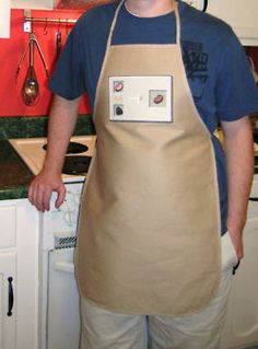 Minecraft pork cooking apron. YES