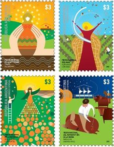 Argentina Stamps - Festivities