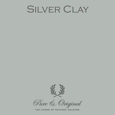 Silver Clay   Pure & Original Paint