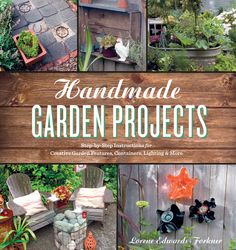 You can transform your garden into a handmade, personality-infused oasis. Author Lorene Edwards Forkner — part eco-friendly non-traditionalist, part crafty creative — will show you how. Projects run the gamut from eye-catching structures, like a pergola made from plumbing pipes, to imaginative details, like a tree-hung chandelier for nighttime ambiance. You'll also find helpful plant guides to accompany projects: delectable herbs to fill a stacking container tower, stellar succulents for a…