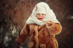 Дети Professional Photographer, Photo Sessions, Newborn Photography, Fur Coat, Poses, Jackets, Clothes, Baby, Fashion