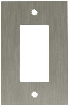 Franklin Brass Concave 1Gang Single Decorator  Rocker  GFCI Device Wall Switch Plate Cover Satin Nickel ** To view further for this item, visit the image link.Note:It is affiliate link to Amazon.