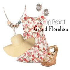 A fashion look from April 2014 featuring Forever 21 dresses, Dollhouse sandals and Betsey Johnson necklaces. Browse and shop related looks.