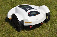 The Brand New Genie500 Robot Lawn Mower from AutoLawnMow. The lowest priced robot lawn mower with the features of all the top models.   Visit http://www.autolawnmow.com