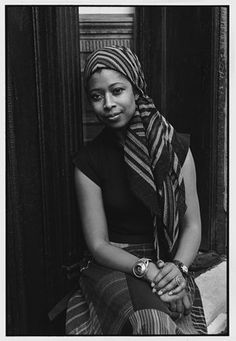 Alice Walker. Brilliant author.  Who doesn't remember the first time that they saw or read 'Color Purple'?