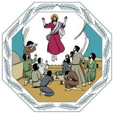 1) Helatorstai 2) Paljon ideoita aiheesta  http://www.pinterest.com/pmvanginkel/bijbel-het-laatste-avondmaal-kleuters-bible-jesus-/