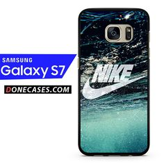 nike logo ocean Samsung Galaxy S7 case will create premium style to your phone. Materials are from durable hard plastic or silicone rubber cases, available in black and white color. Our case makers cu