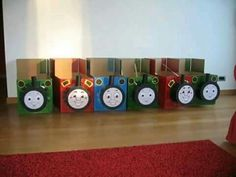 Thomas the Train party decoration idea Thomas the Train Party