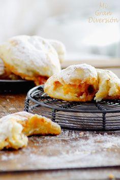 Mi Gran Diversión: Ensaimadas rellenas de sobrasada, queso y miel