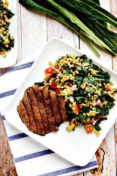The Hearty Detox Salad | Vegan. ☀CQ #summer #salad #dressing http://www.pinterest.com/CoronaQueen/summer-salad-bar-corona/