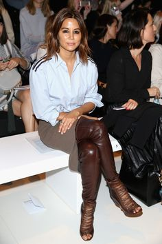 Christine Centenera Photos: Tome - Front Row - Mercedes-Benz Fashion Week Australia 2015