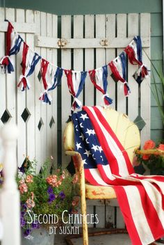 Second Chances by Susan: I Love the Red, White, and Blue!