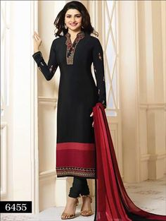 Looking to buy salwar kameez? ✓ Shop the latest dresses from India at Lashkaraa & get a wide range of salwar kameez from party wear to casual salwar suits! Salwar Suits Simple, Prachi Desai, Beautiful Suit, Indian Couture, Indian Outfits, Indian Clothes, Desi Clothes, Indian Dresses, Party Wear Dresses