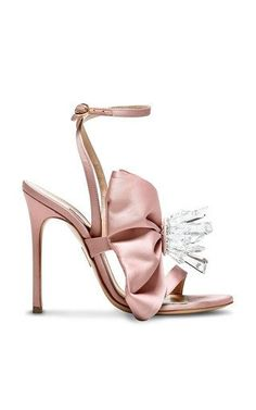 9d88c390812b Chrystal Embellished Satin Sandal by A By Anabelle World Of Fashion