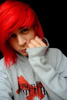 Omfg his hair ☆~ And those piercings