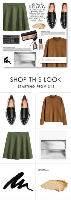 """""""We keep wasting colors."""" by laurasuursepp ❤ liked on Polyvore featuring H&M, Bobbi Brown Cosmetics, Boohoo and Urban Decay"""