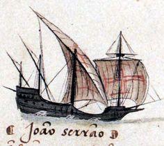 Square-rigged caravel - Wikipedia, the free encyclopedia. Caravela Redonda, ou, Caravela de Armada,