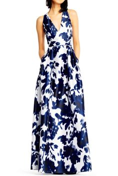 91787339498 Satin Crop Top and Printed Organza Skirt Set - Black   White