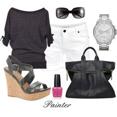 Simple yet Classy, created by mels777 on Polyvore