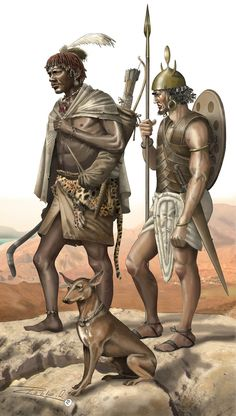 Nubian warrior and a Sea People mercenary, in Bronze Age Egypt. Ancient Egypt, Ancient History, Sea Peoples, Medieval, Ancient Near East, Templer, Iron Age, Dark Ages, African History