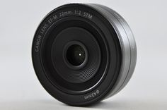 [Near Mint] CANON EF-M 22mm F2 STM Lens For EOS M-Series #CANON