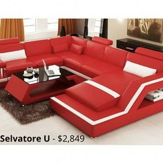 Selvatore U Leather Sofa Modular Lounge A Modern And Stylish Touch To Any